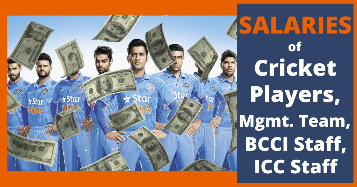 Salaries of Cricket Players