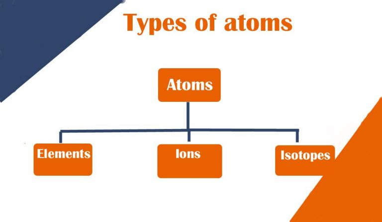 types of atoms
