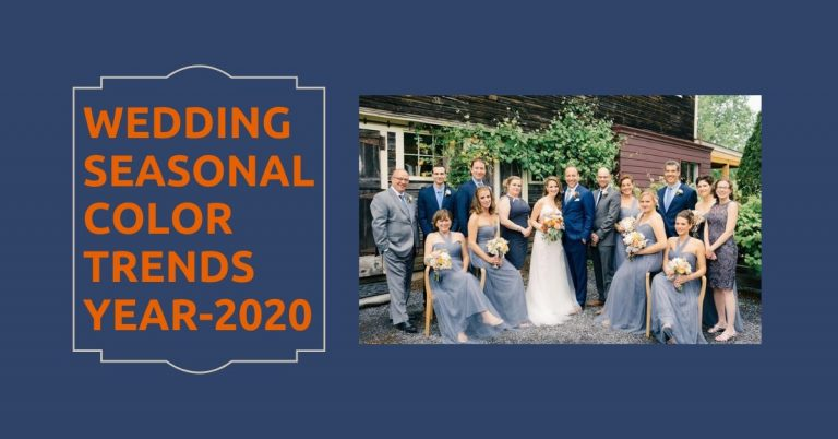 Wedding seasonal trends
