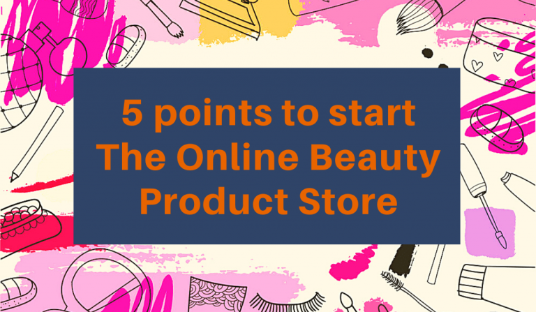 online beauty product store