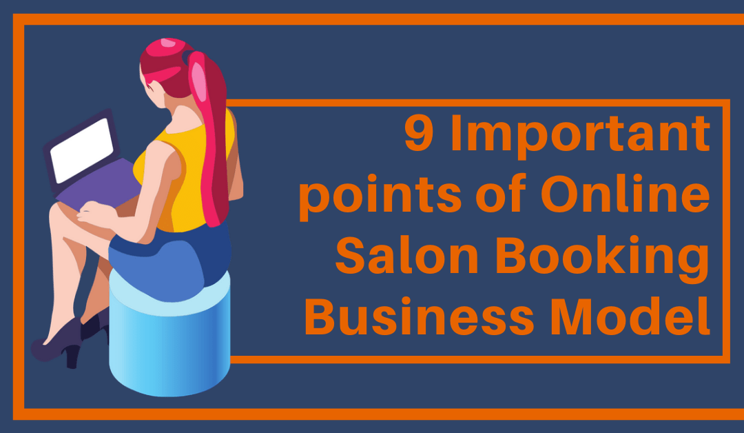 online salon booking business model