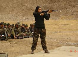 girl-indian-army-officer-shooting