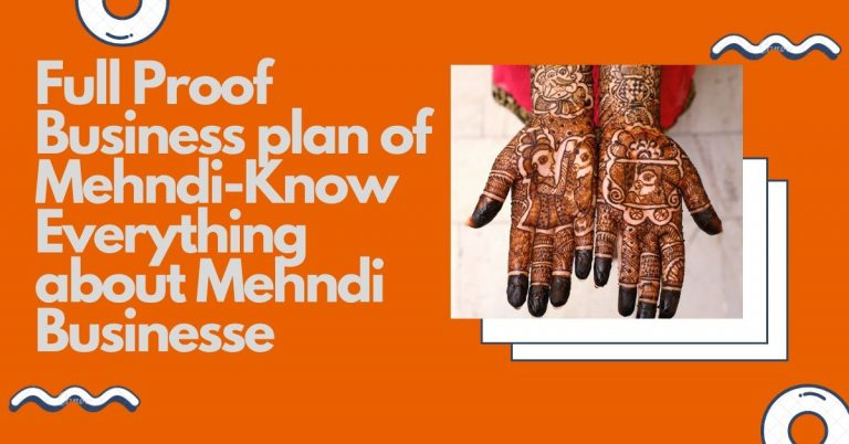Business plan About Mehndi