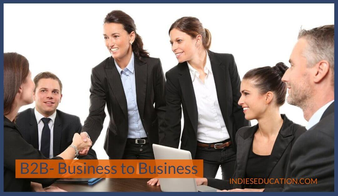 B2B-Business-to-usiness-Business  models