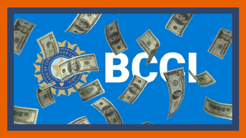 BCCI money