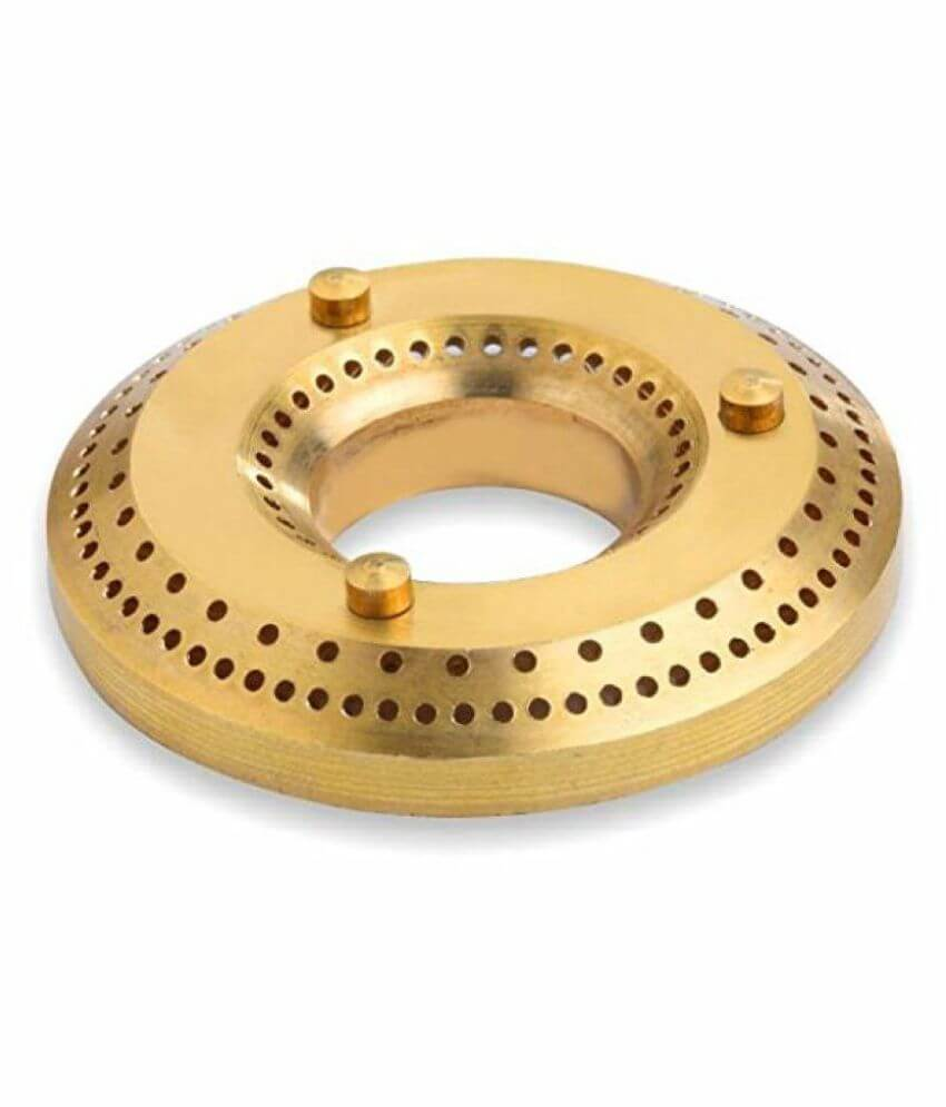 THE IMAGE OF A N BRASS BURNER
